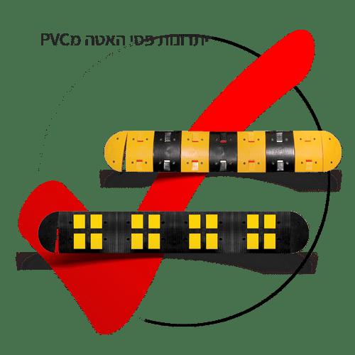 יתרונות פסי האטה מPVC